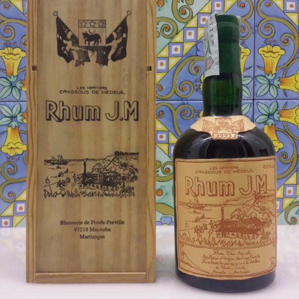 Rum J.M. 1993 Vol.45,8% cl.70 Agricole Martinique
