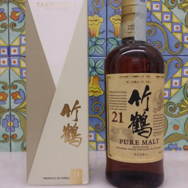 Whisky Taketsuru 21 Y.o. Nikka  Pure Malt Vol.43% cl.70