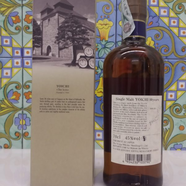 Whisky Yoichi Nikka 10 Y.o. Single Malt Vol.45 % cl.70