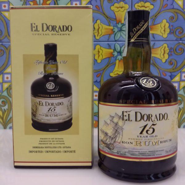 Rum Eldorado 15 Y.o. Vol.43% cl.70