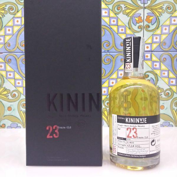 Whisky Kininvie 23 Y.O. cl.35