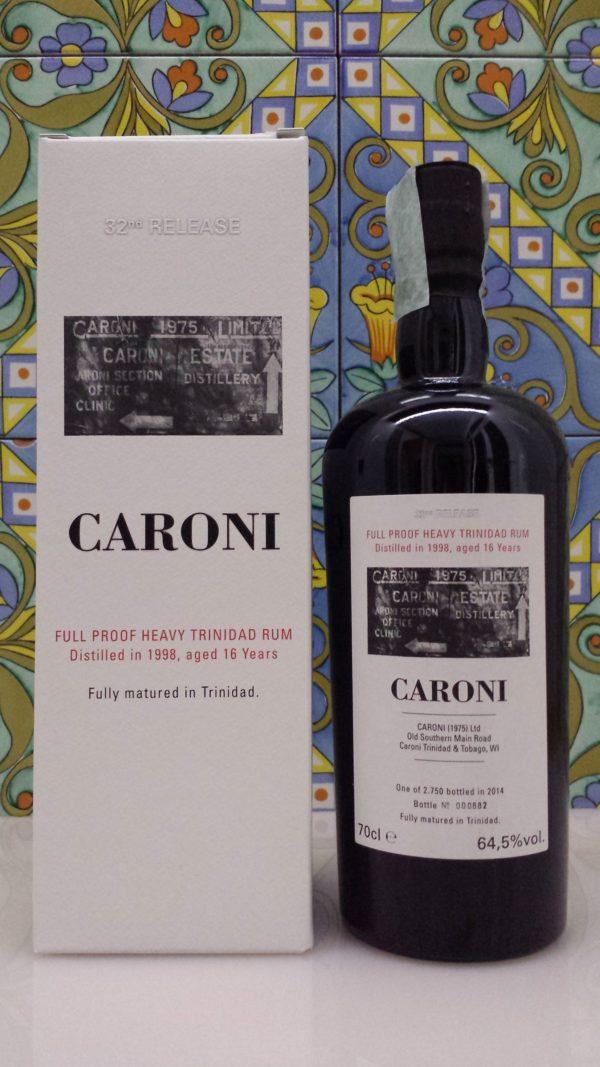 Rum Caroni 1998 16 Y.o. Ful Proof  Vol.64,5% cl.70 Velier