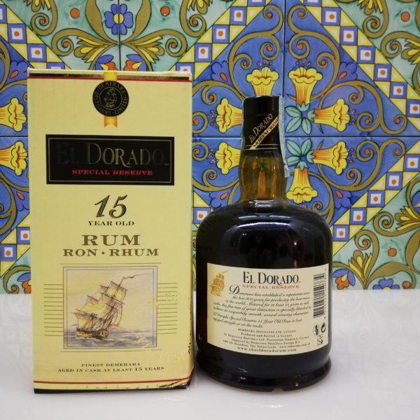Rum El Dorado 15 Y.o. Vol.43% cl.70