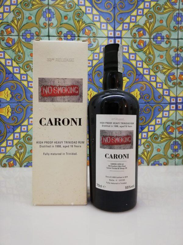 Rum Caroni 1998 16 Y.o. No Smoking 33rd Release Vol.55% cl.70 Velier