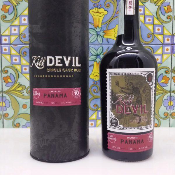 Rum Kill Devil Panama 10 Y.o. Vo.60,50% cl.70 Single Cask, Distilled 2006