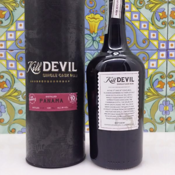 Rum Kill Devil Panama 10 Y.o. Vo.60,50% cl.70 Single Cask, Distilled 2006