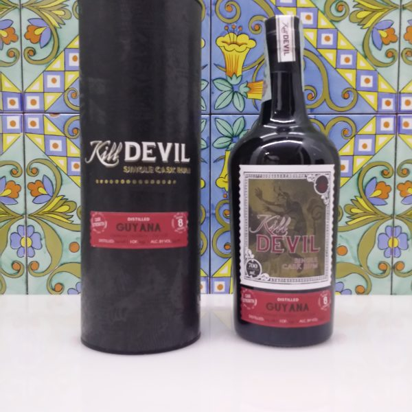 Rum Kill Devil Guyana Diamond Pot Still 8 Y.o. Vol.59,3% cl.70 Single Cask, Distilled 2008