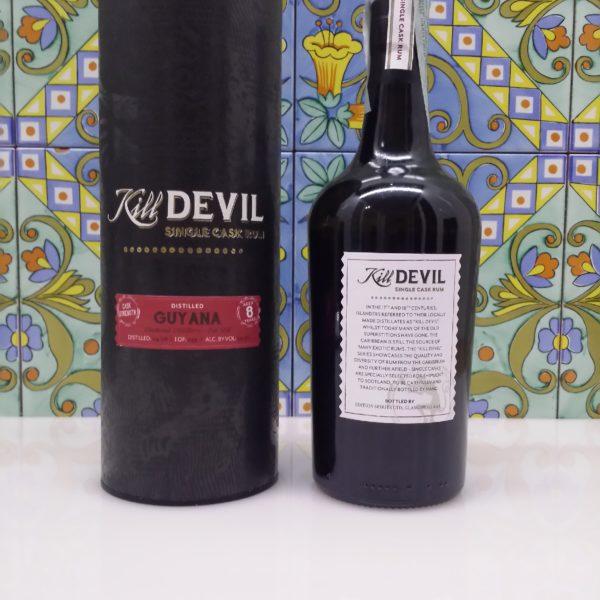 Rum Kill Devil Guyana Diamond Pot Still 8 Y.o. Vol.59,3% cl.70 Single Cask, Distilled 2008