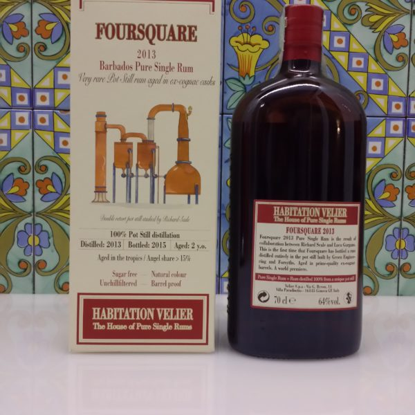 Rum Habitation Foursquare 2013 Vol.64% cl.70 Velier, Bottled 2015