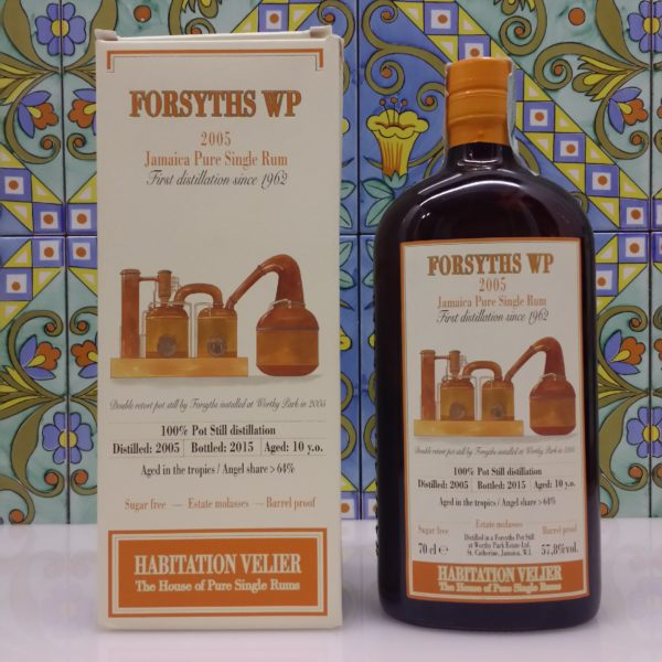 Rum Habitation Forsyths Wp 2005 Jamaica Vol.57,8% cl.70 Velier, Bottled 2015