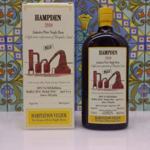 Rum Habitation Hampden 2010 HLCF Vol.68,5% cl.70 Velier, Bottled 2016