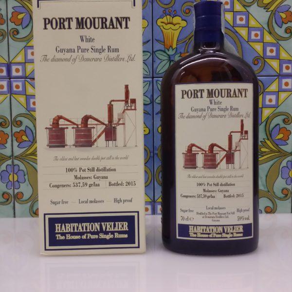 Rum Habitation Port Mourant White Guyana Vol.59% cl.70 Velier, Bottled 2015
