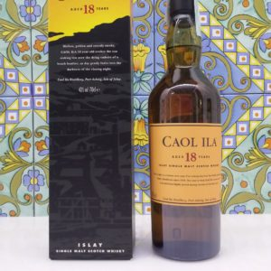 Whisky Caol Ila 18 Y.o. Vol.43% cl 70