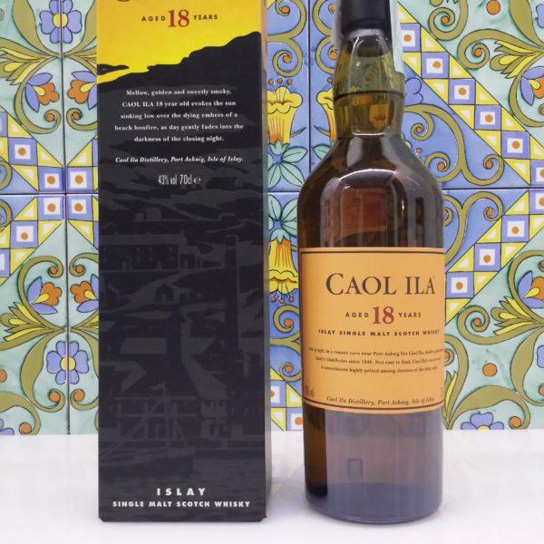 Whisky Caol Ila 18 Y.o. Vol.43% cl 70