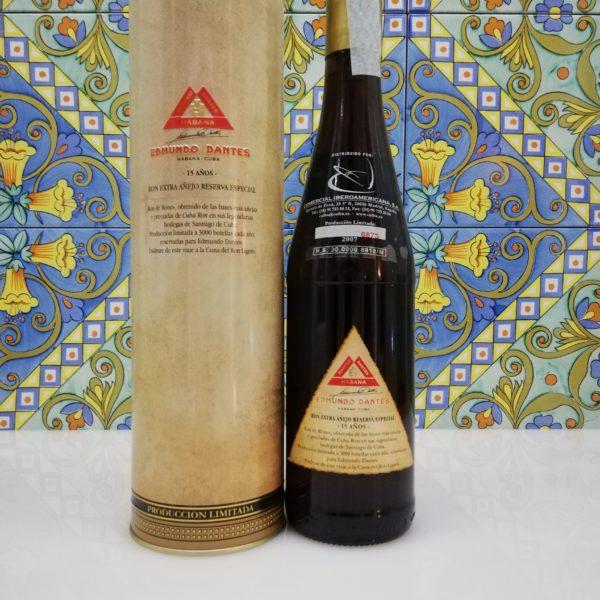 Rum Edmundo Dantes 15 Y.o. Vol.40% cl 70