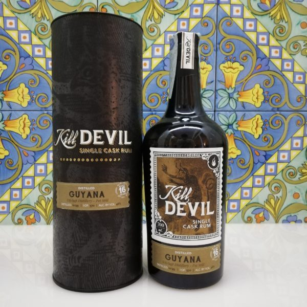 Rum Kill Devil Guyana Uitvlugt 16 Y.o. Vol.46% cl.70 Single Cask, Distilled 1999