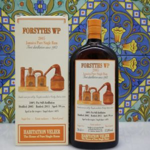 Rum Habitation Forsyths Wp 2005 Jamaica Vol.57,8% cl.70 Velier, Bottled 2015
