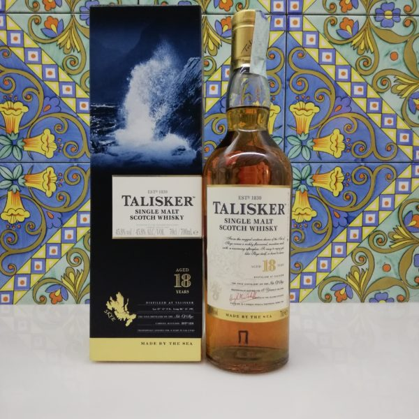 Whisky Talisker 18 Y.o. Vol.45,8% cl.70
