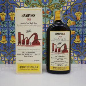 Rum Habitation Hampden 2010 LROK Jamaica  Vol.67% cl.70 Velier , Bottled 2016