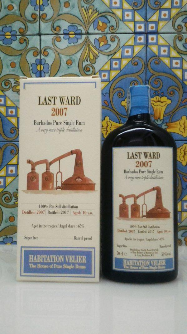 Rum Habitation Last Ward 2007 Barbados Vol.59% cl.70 Velier, Bottled 2017