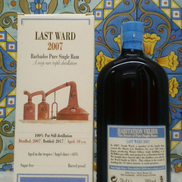 Rum Habitation Last Ward 2007  Barbados  Vol.59% cl.70 Velier, Bottled 2017