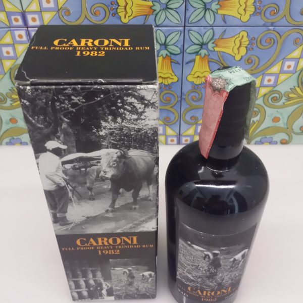 Rum Caroni 1982  23 Y.o. Single Cask  Vol.77,3% cl.70 Velier