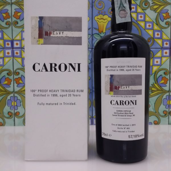 Rum Caroni 34 rd Release 1996 20 Y.o. Vol.57,18% cl.70 Velier