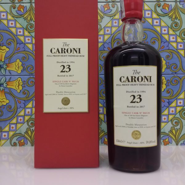 Rum Caroni Magnum 1994 Heavy cl.150 vol. 59.8%