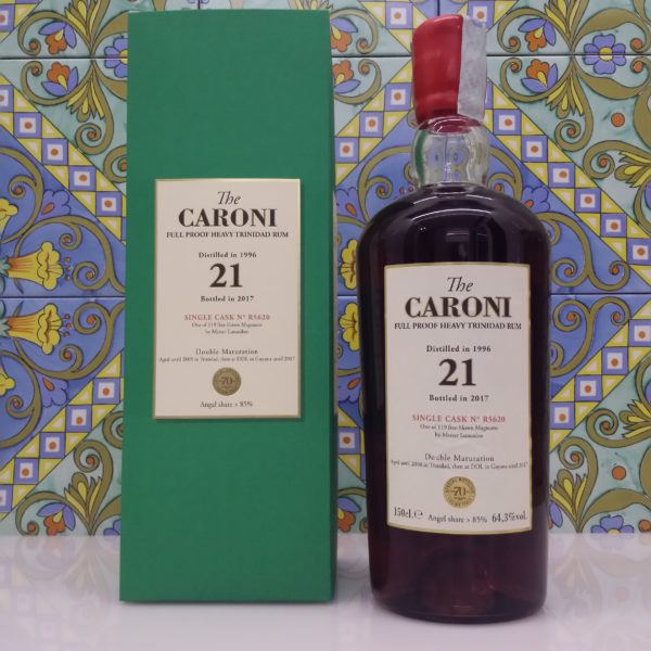 Rum Caroni Magnum 1996 Heavy cl.150 vol. 64.3%