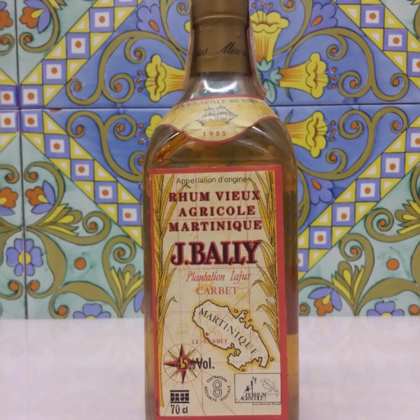 Rum J.Bally 1985 Vol.45% cl.70, Agricole Martinique