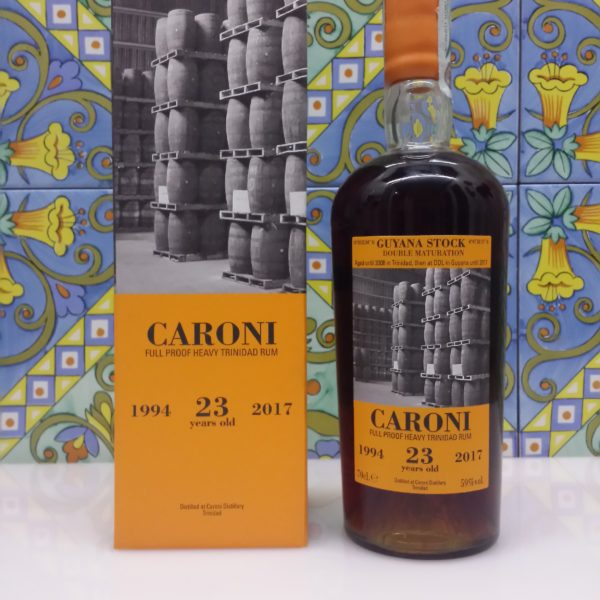 Rum Caroni 23 y.o.  vol.59% Full Proof  cl.70 Velier