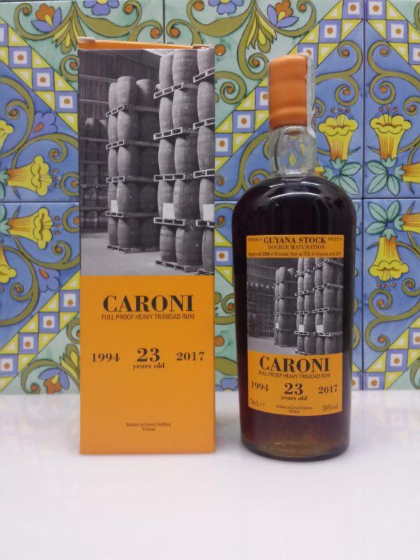 Rum Caroni 23 y.o.  vol.59% Full Proof  cl.70 Velier