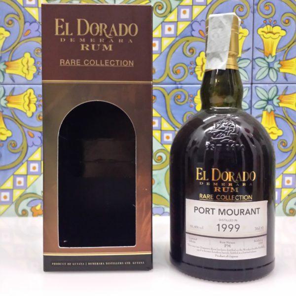 Rum El Dorado Port Mourant 1999 Vol.61,4% cl.70