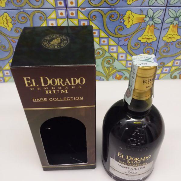 Rum El Dorado Versailles 2002 Vol.63% cl.70
