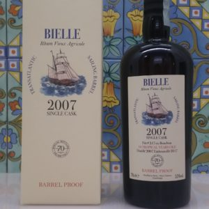 Rum Bielle 2007 Single Cask  70° Velier cl.70