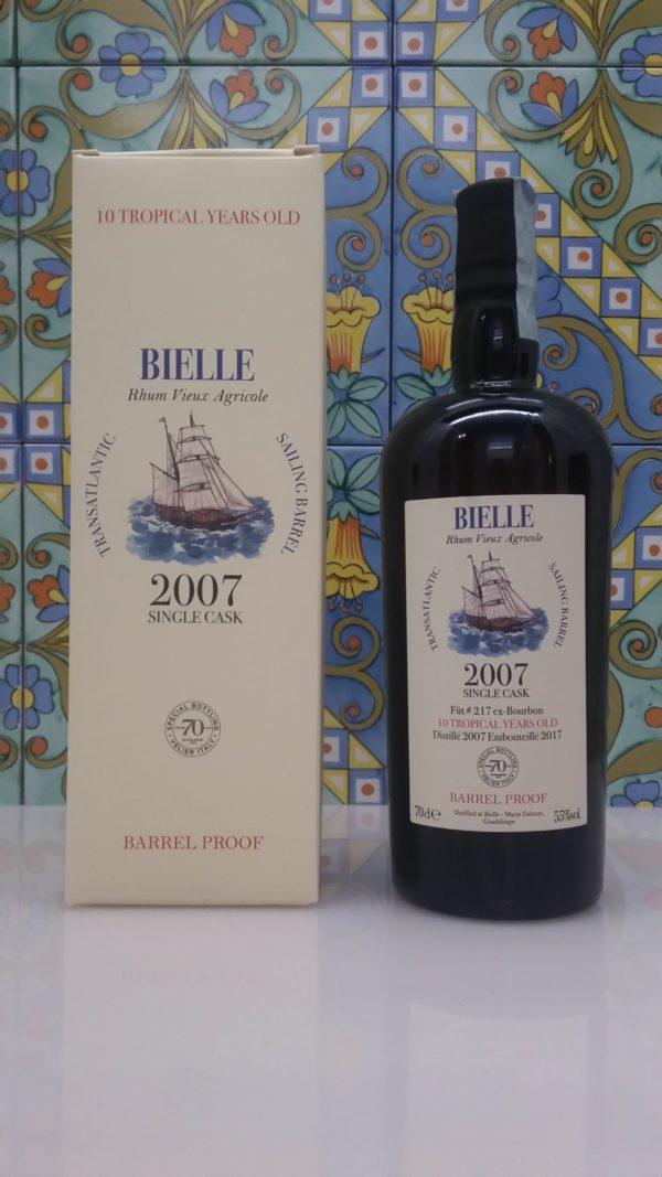 Rum Bielle 2007 Single Cask  70° Velier cl.70