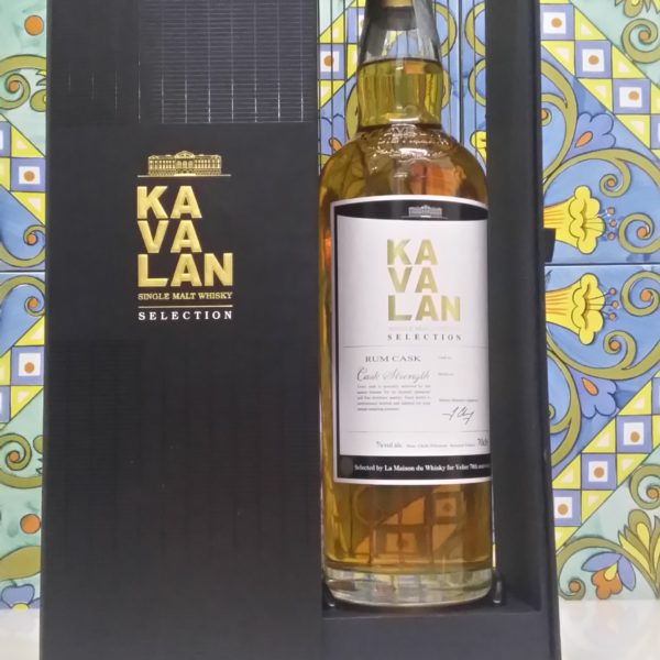 Whisky Kavalan  Single Cask Vol.57,1% cl.70, 70° Velier