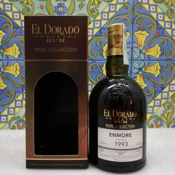Rum El Dorado Enmore 1993 Vol.56,5% cl.70