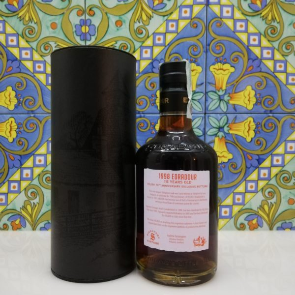 Whisky Edradour 1998 Vol.56,2% cl.70 Bottled 2017, 70° Velier
