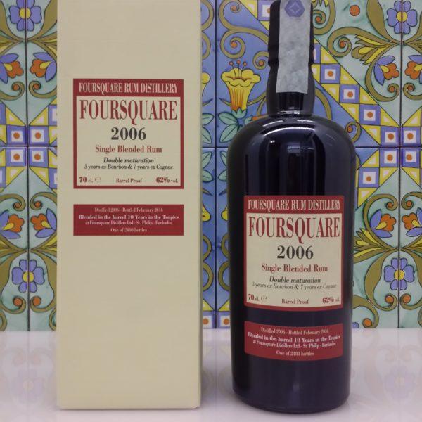 Rum Foursquare 2006 10 Y.o Vol.62% cl.70 Velier