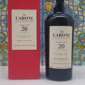 "Rum Caroni "" Begnoni"" 20 Y.o. Single Cask Vol.70,7% cl.70 Velier"