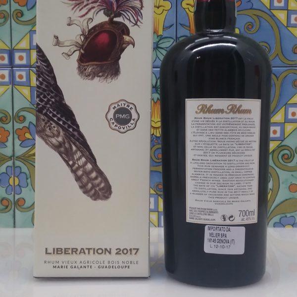 Rhum Rhum Liberation 2017 Vol.45% cl.70