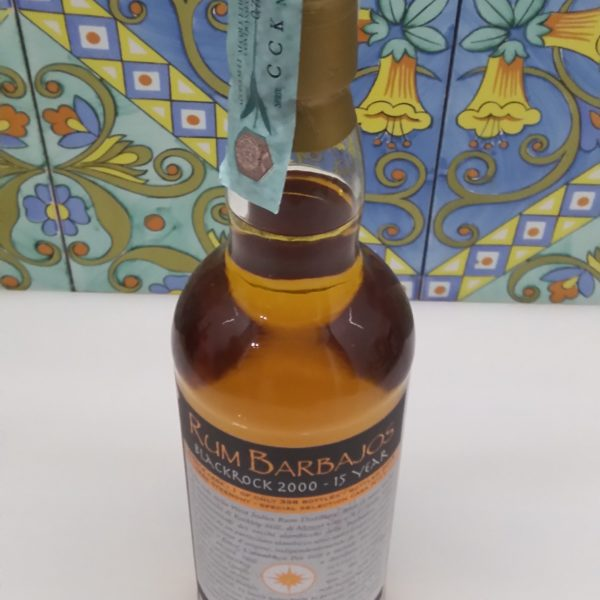 Rum Barbajos Blackrock 2000 15 Y.o. Single Cask Vol.54,2% cl.70