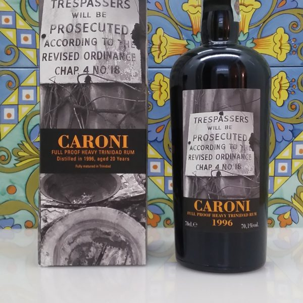 Rum Caroni 1996  full proof 20 Y.o. Vol.70,1% cl.70 Velier