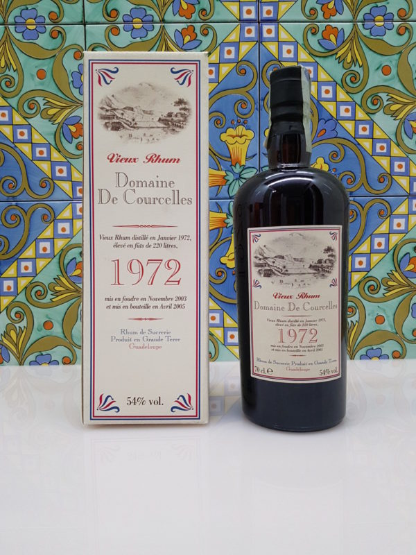 Rum Domaine De Courcelles 1972 Vol. 54% cl.70 Velier