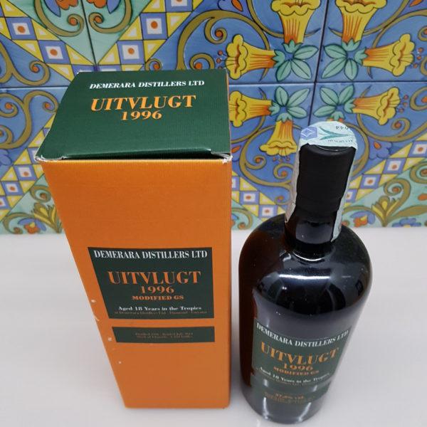 Rum Demerara Uitvlugt 1996 Vol.57,2% cl.70 Velier