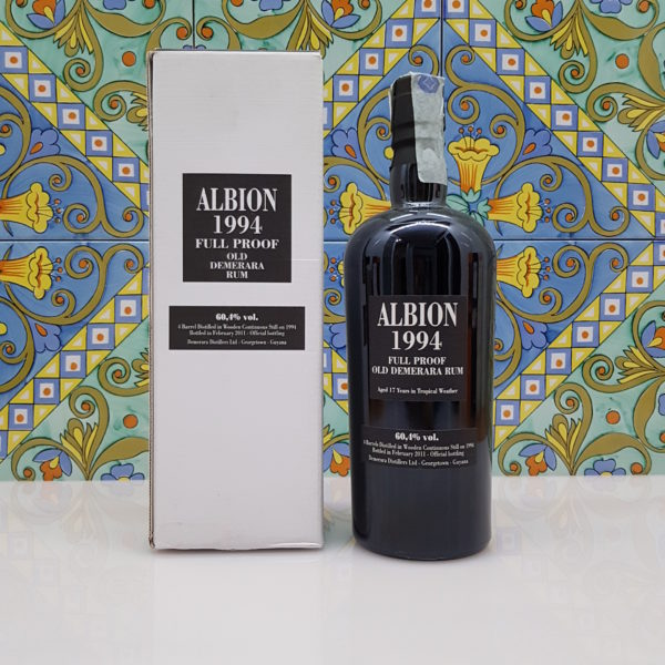 Rum Demerara Albion 1994 vol.60,4% cl 70