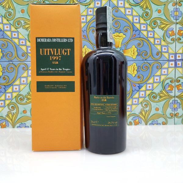 Rum Demerara Uitvlugt 1997 ULR Vol.59,7% cl.70 Velier