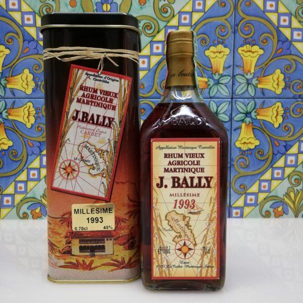 Rum Rhum J.Bally 1993  Vol.45%  cl 70 Agricole Martinique
