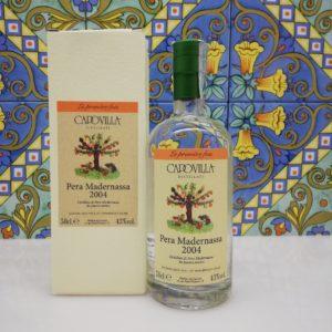 Capovilla Distillato di Pera Madernassa 2004 Vol.43% cl.50, 70° Velier